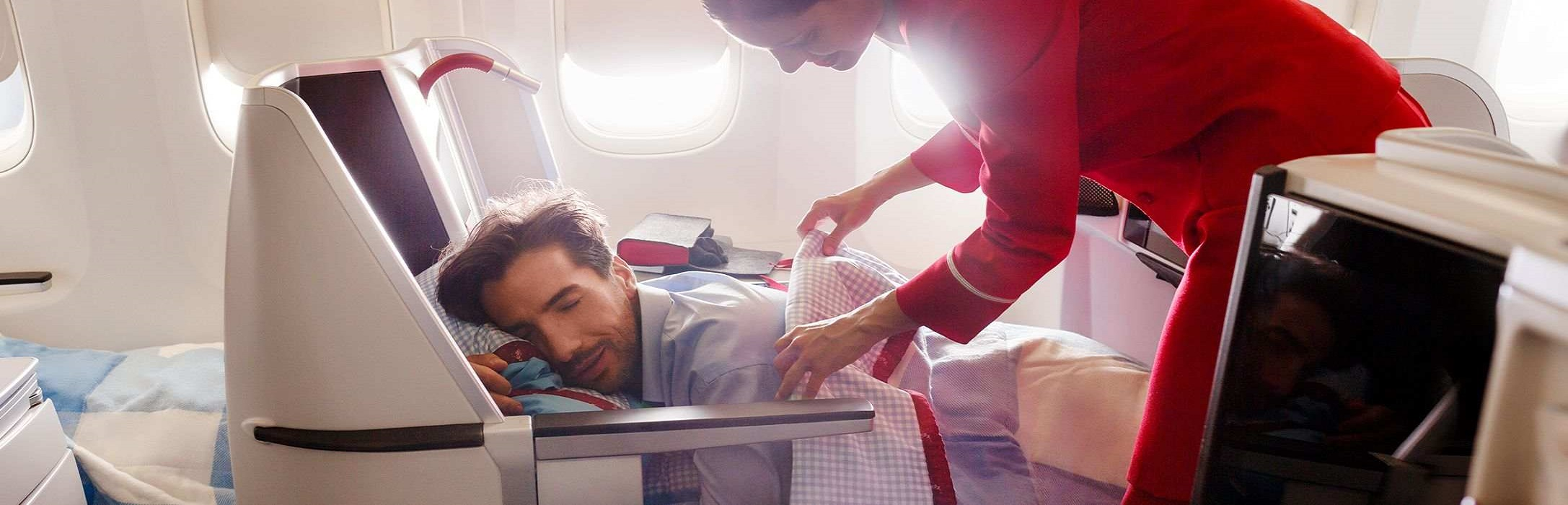 Austrian Airlines Business Class <br/>– The most convenient way to travel.